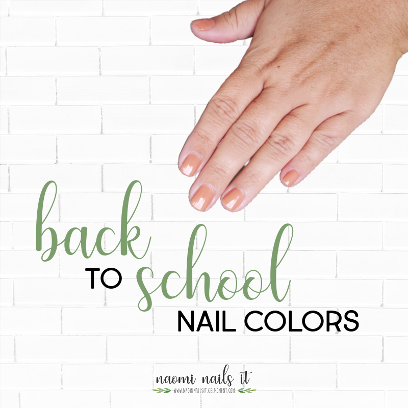 back to school, fall nail color, school nails, back to school nails, gelmoment, gel polish, non toxic nails,
