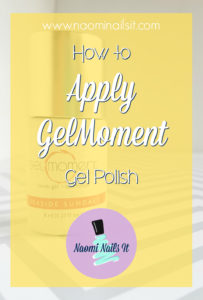 how to apply gelmoment, gelmoment application, gelmoment