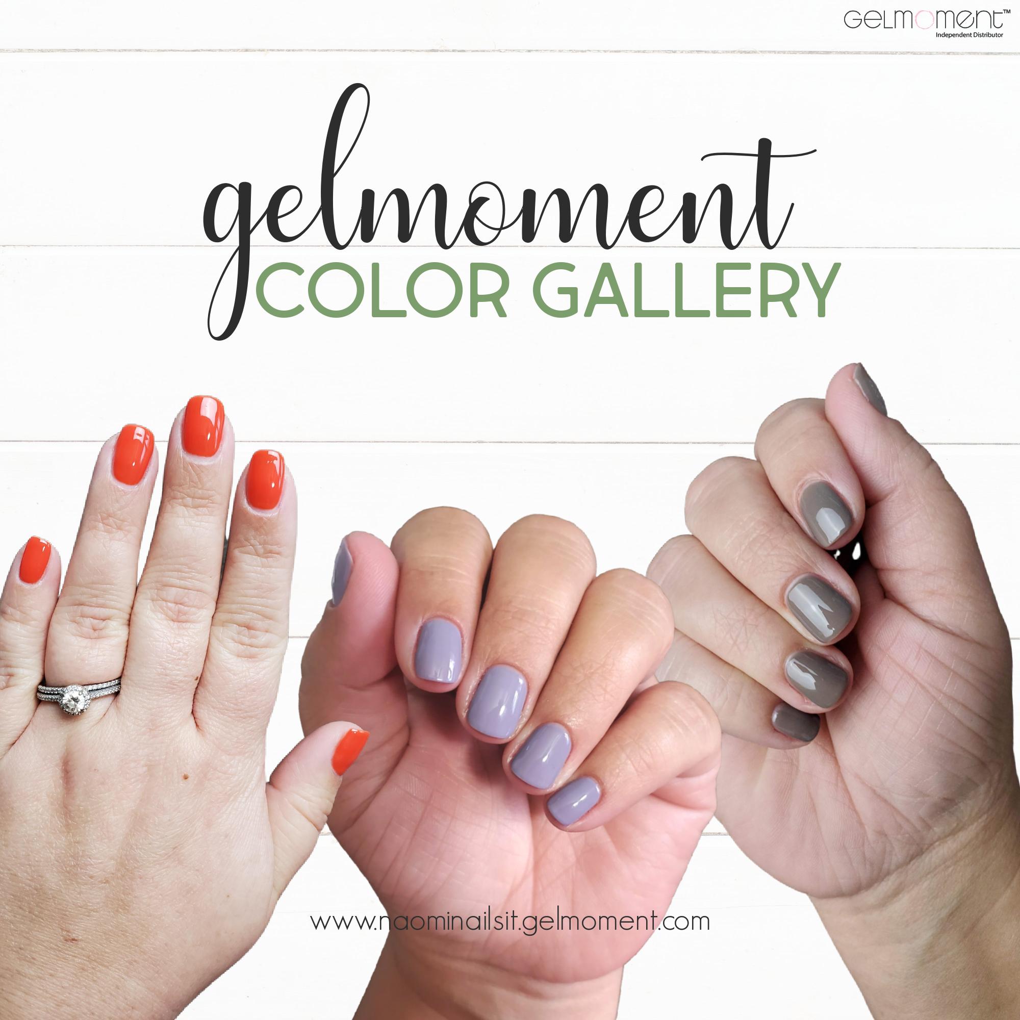 gelmoment colors, gelmoment color gallery, gelmoment, at home gel polish, gelmoment polish,